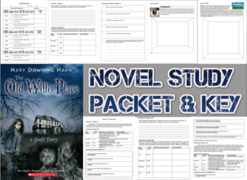 Novel Study Student Packet & Key for Old Willis Place (Hahn) - Level T