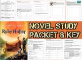 Novel Study Student Packet & Key for Ruby Holler (Creech) - Level V