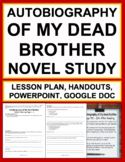 Autobiography of My Dead Brother Novel Study W.D. Meyers S