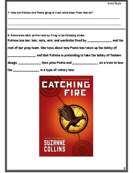 Novel Study Super Pack!  Number the Stars AND Catching Fire