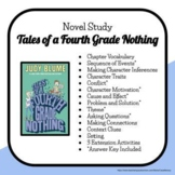 Novel Study: Tales of a Fourth Grade Nothing