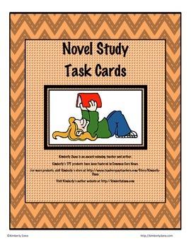 Novel Study Task Cards