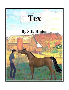 Novel Study, Tex (by S.E. Hinton) Study Guide