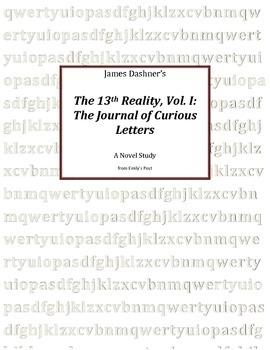 Novel Study: The 13th Reality, Vol. I: A Journal of Curiou