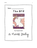 Novel Study- The BFG by Roald Dahl