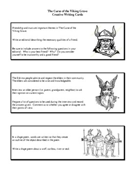 Novel Study, The Curse of the Viking Grave (by Farley Mowat) Study Guide