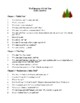 Novel Study, The Education of Little Tree (by Forrest Carter) Study Guide