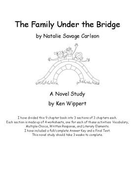 Novel Study: The Family Under the Bridge