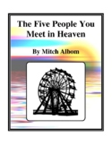 The Five People You Meet in Heaven (by Mitch Albom) Study Guide