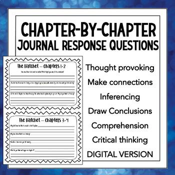 Novel Study: The Hatchet By Gary Paulsen