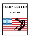 Novel Study, The Joy Luck Club (by Amy Tan) Study Guide