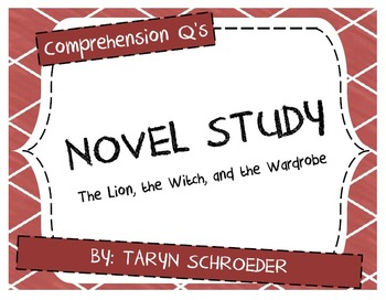 Novel Study - The Lion, the Witch, and the Wardrobe