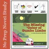 Novel Study: The Missing Gator of Gumbo Limbo -- Everglade