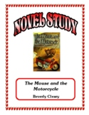 Novel Study - The Mouse and the Motorcycle (Cleary)