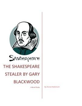 Novel Study The Shakespeare Stealer