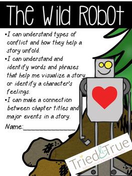 Novel Study:  The Wild Robot