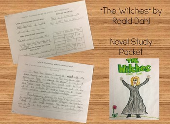 """Novel Study """"The Witches"""""""