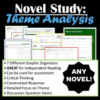 (ANY) Novel Study - Theme Analysis