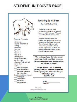 Novel Study: Touching Spirit Bear