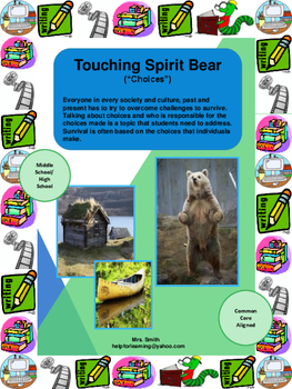 Novel Study: Touching Spirit Bear