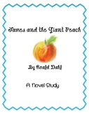 Novel Study Trio-  James and the Giant Peach, Super Fudge,