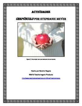 Novel Study: Crepusculo (Twilight) by Stephanie Meyer (Spanish version)