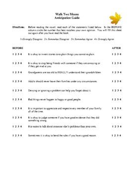 novel study walk two moons by sharon creech study guide tpt novel study walk two moons by sharon creech study guide