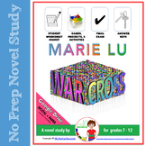 Novel Study:  Warcross by Marie Lu (includes DIGITAL resource options)