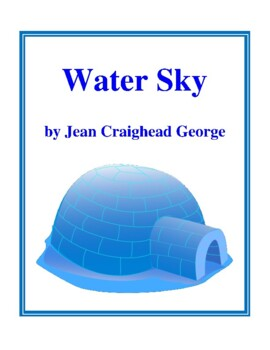 Novel Study, Water Sky (by Jean Craighead George) Study Guide