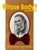 Novel Study: Whose Body? by Dorothy L. Sayers