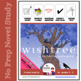 Novel Study Wishtree by Katherine Applegate -- includes DIGITAL file options