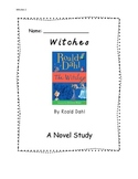 Novel Study-  Witches by Roald Dahl