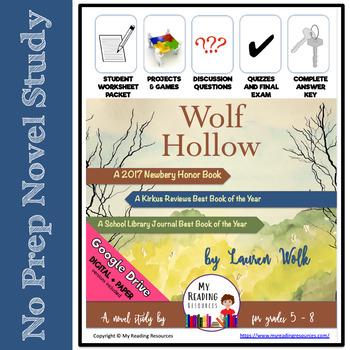 Novel Study Wolf Hollow by Lauren Wolk