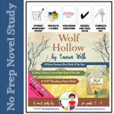 Novel Study Wolf Hollow by Lauren Wolk