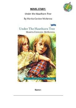 Novel Study Workbook: Under the Hawthorn Tree
