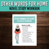 Novel Study Workbook for Other Words for Home