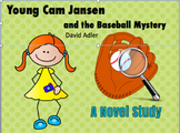 Novel Study: Young Cam Jansen and the Baseball Mystery