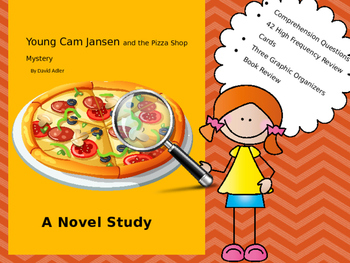 Novel Study: Young Cam Jansen and the Pizza Shop Mystery