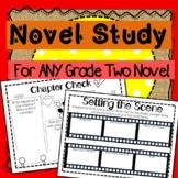 Novel Study for ANY Grade 2 Novel!