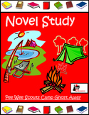 Novel Study for Beginning Chapter Book - Pee Wee Scouts #2