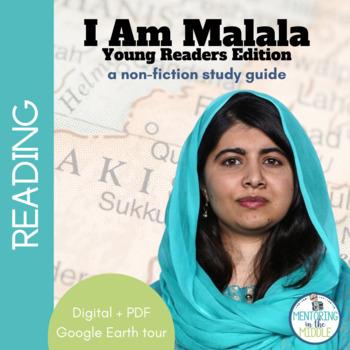 I Am Malala Assessment Teaching Resources Teachers Pay Teachers Gorgeous I Am Malala Quotes