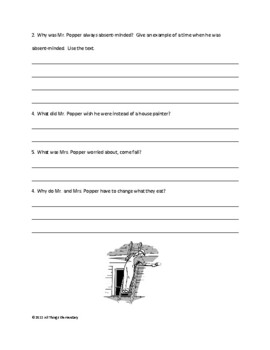 Novel Study for Mr. Popper's Penguins by Richard and Florence Atwater