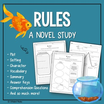 Rules by Cynthia Lord (Rules Novel Study)
