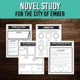 Novel Study for The City of Ember / Printable Workbook