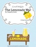 """The Lemonade War"" Novel Study"