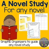 Distance Learning Novel Study for any Novel