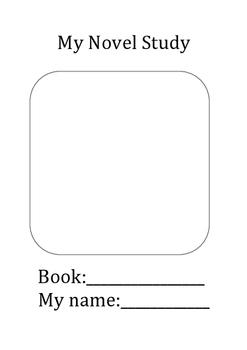 Novel Study (generic)