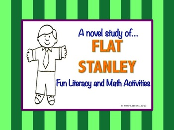 Flat Stanley Novel Study: Literacy and Math Activities