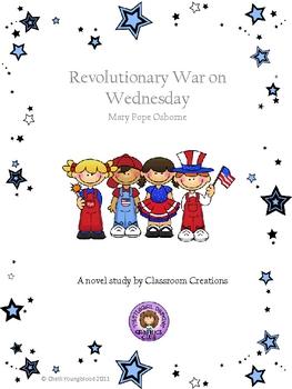 Novel Study on Revolutionary War on Wednesday by Mary Pope Osborne