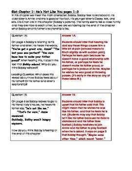 Bobby the Brave (Sometimes)  Guided Reading Level O Novel Study